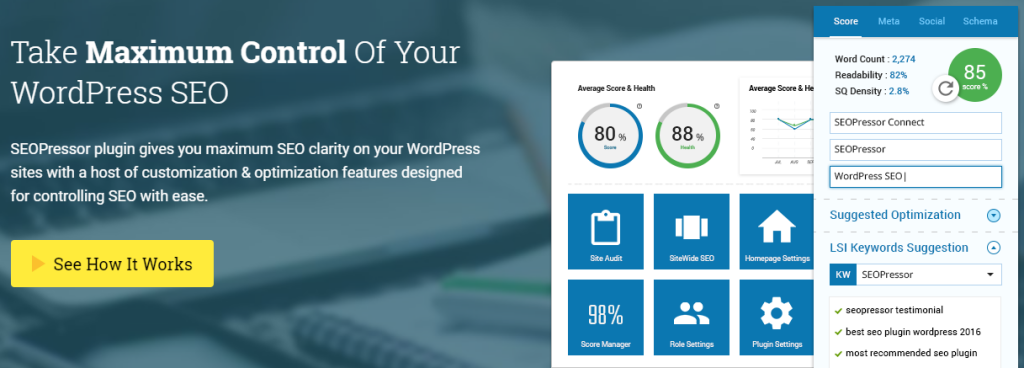 SEOPressor WordPress SEO Plugin