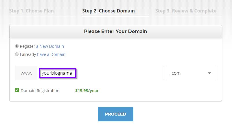 SiteGround Domain Registration min