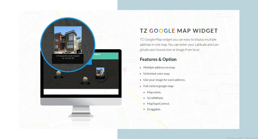 7th u TZ Google Map