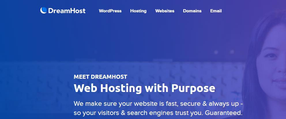 DreamHost Webhosting