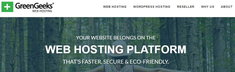 GreenGeeks Webhosting