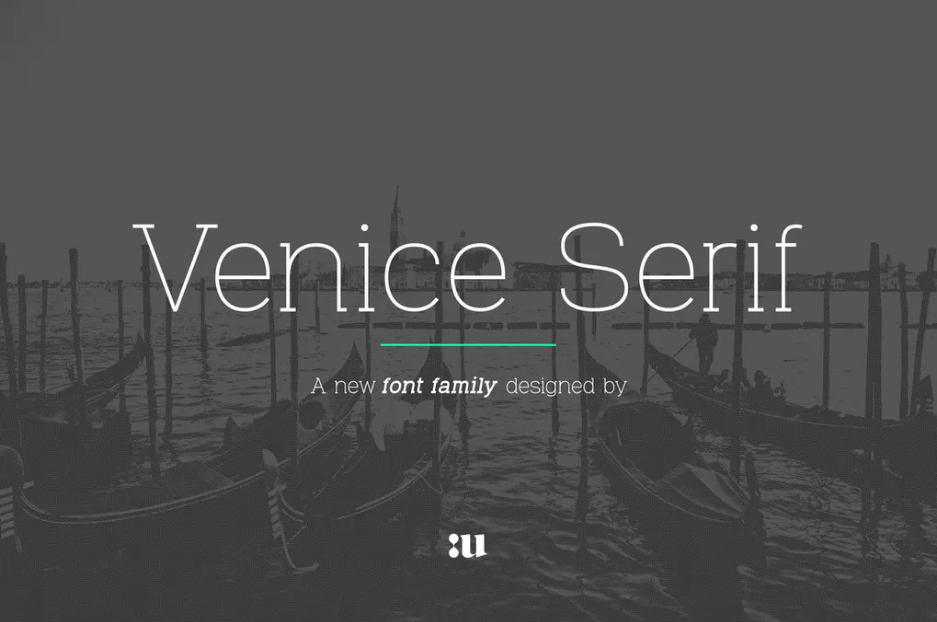 Venice Fonts for Brochures and Flyers