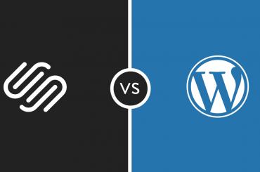 WordPress and SquareSpace