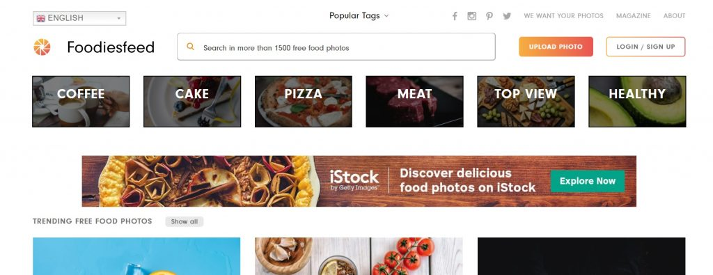 FoodiesFeed - Webtopic