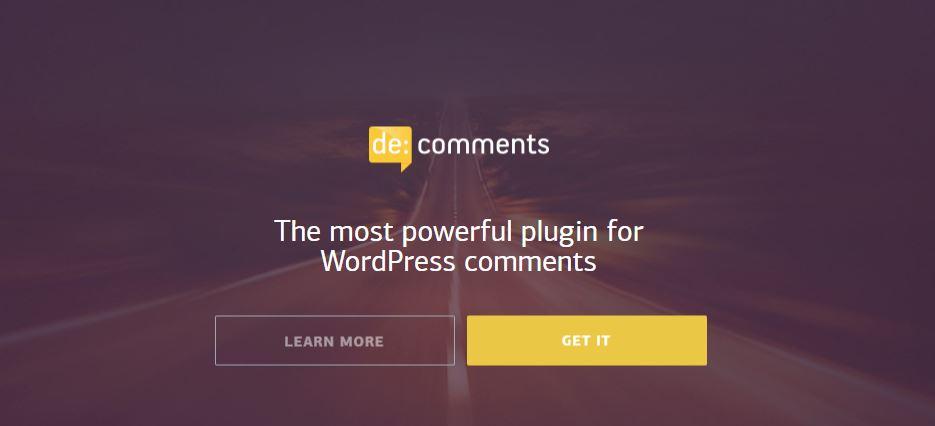 De:comment for WordPress