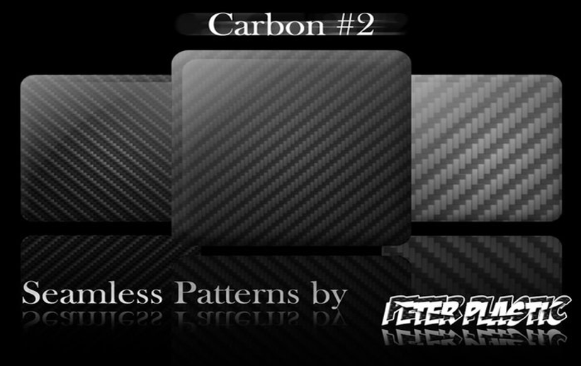 4 carbon fiber patterns