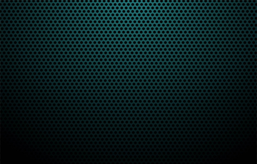 Blue carbon fiber texture background