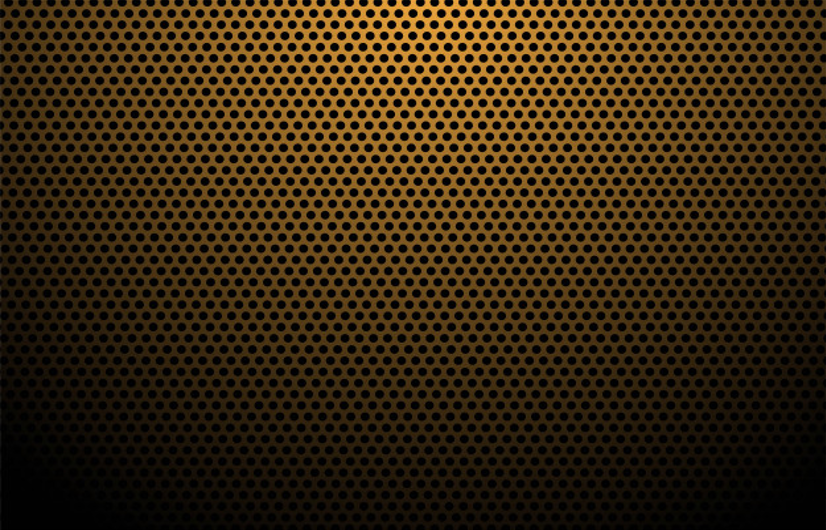 Orange carbon fiber texture background