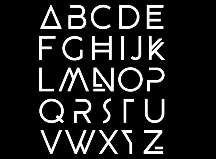 BEYNO Best Futuristic Fonts