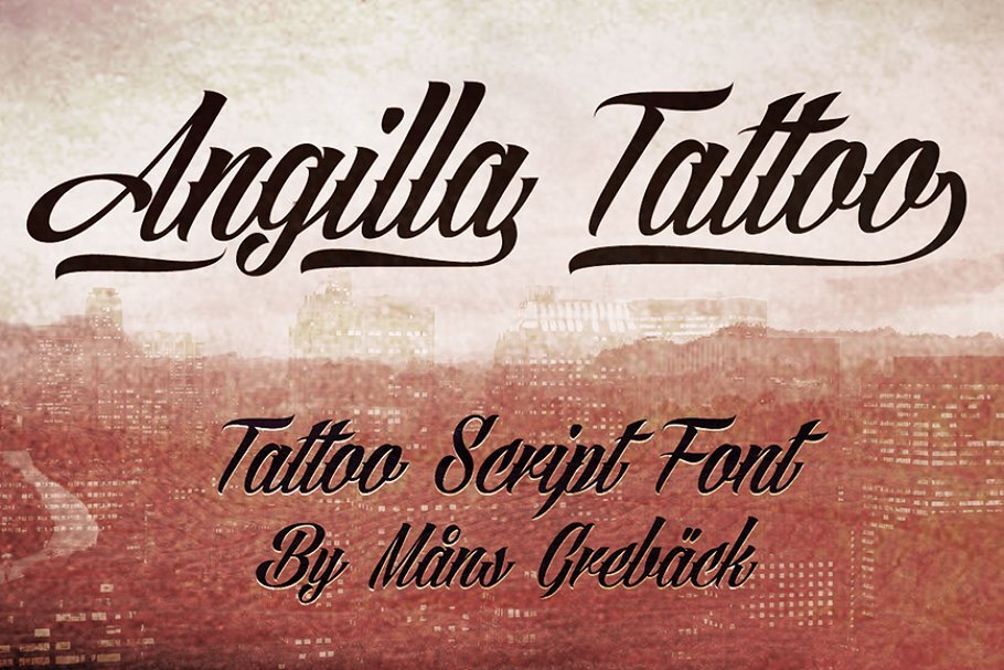 15. Angilla Tattoo