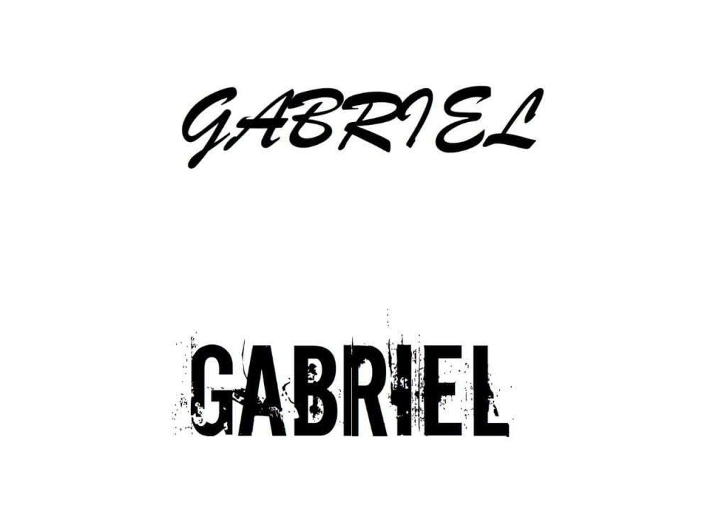 32. Gabrael – Tattoo Script – min
