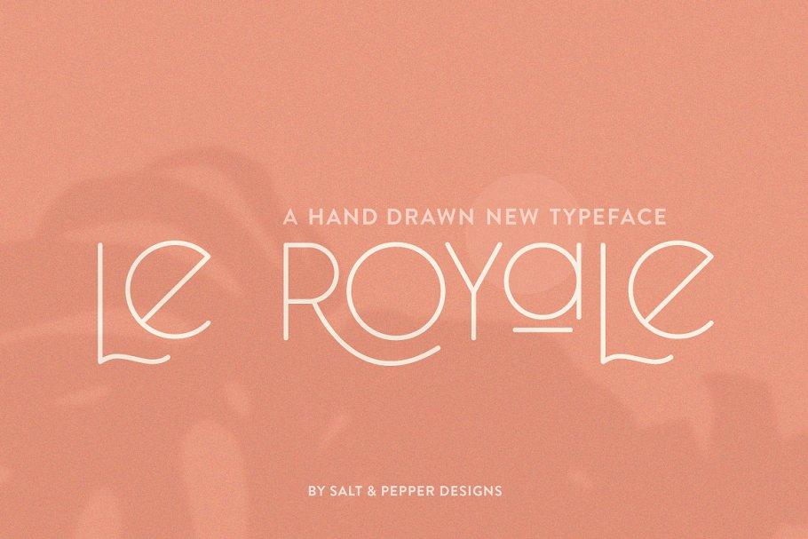 34. Le Royale Tattoo Font – min