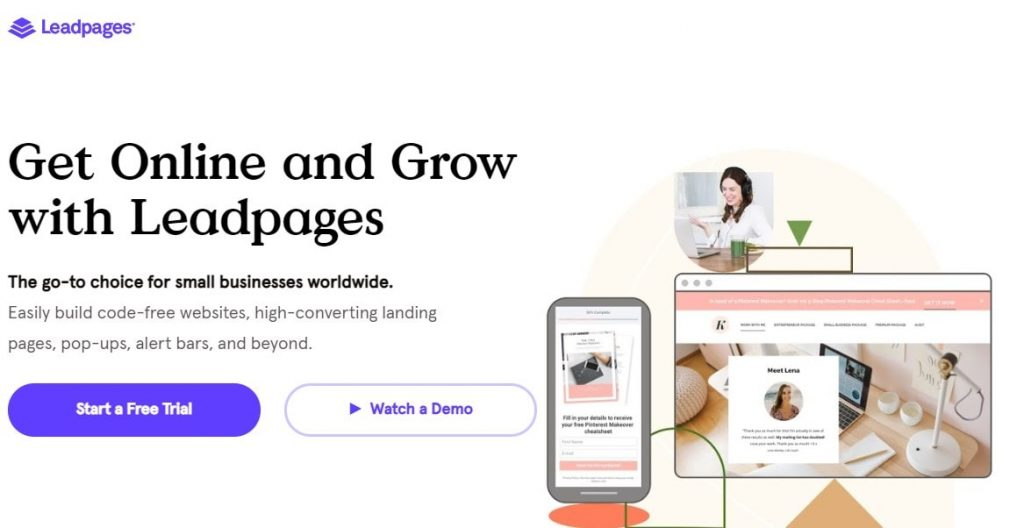 leadpages min
