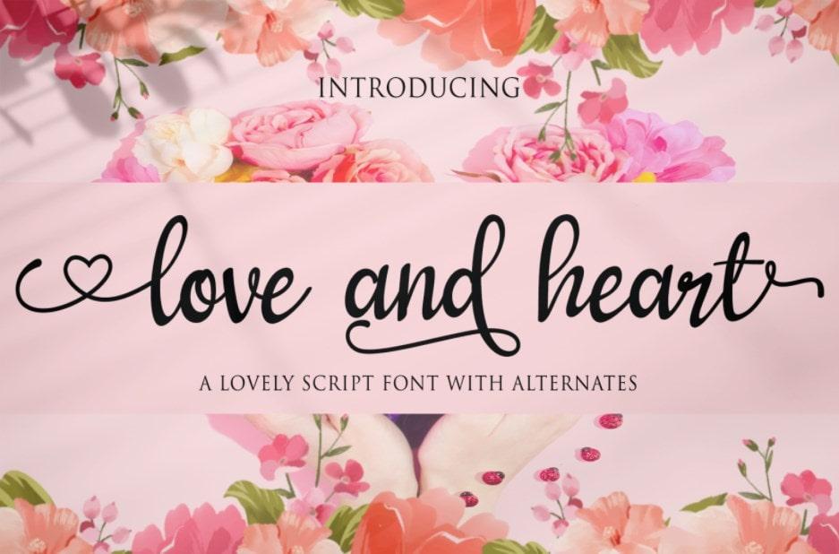 31. Love and Heart min