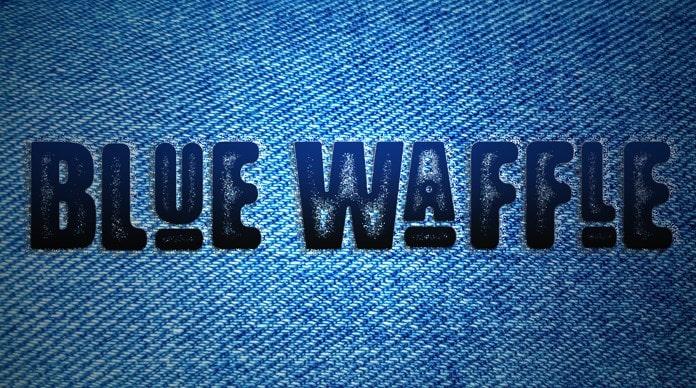 38. Blue Waffle min