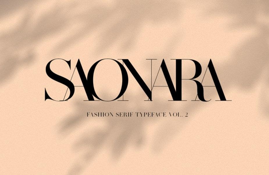 42. SAONARA min